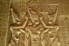 Tempio dell'Egitto di Kôm Ombo Immagine Stock Libera da Diritti