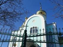 Tempio dell'icona di Kazan della madre di Dio Fotografia Stock