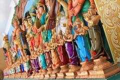 Tempio dell'indiano di Sri Mahamariamman fotografia stock
