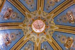 Tempio della basilica di angeli della cupola di Belen Guanajuato Mexico Fotografie Stock Libere da Diritti