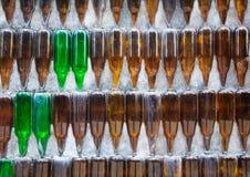 Tempio della bottiglia di vetro Immagini Stock Libere da Diritti