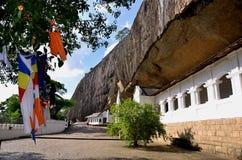 Tempio della caverna di Dambulla Fotografia Stock Libera da Diritti