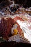Tempio della caverna di Kawgun Fotografie Stock Libere da Diritti