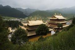 Tempio della Cina Qinghai Fotografia Stock Libera da Diritti