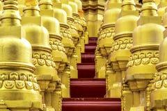 Tempio della pagoda di Gloden Immagine Stock