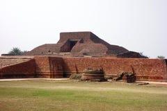 Tempio della piramide di Nalanda Immagine Stock