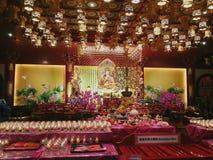 Tempio della reliquia del dente di Buddha Fotografie Stock Libere da Diritti