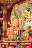 Tempio della reliquia del dente di Buddha di Singapore Immagine Stock Libera da Diritti