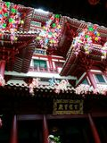 Tempio della reliquia del dente di TempleBuddha della reliquia del dente di Buddha Immagine Stock Libera da Diritti