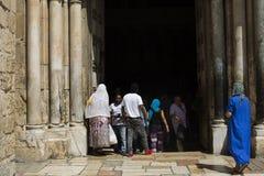 Tempio della resurrezione di Cristo, Gerusalemme Fotografie Stock