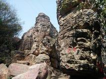 Tempio della roccia fotografie stock libere da diritti