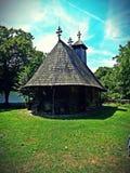 Tempio della Romania Fotografie Stock