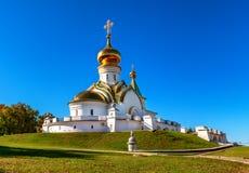 Tempio della st Serafino di Sarov immagini stock libere da diritti