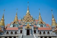 Tempio della Tailandia Fotografia Stock