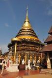 Tempio delle reliquie di Buddha in Lampang Fotografia Stock