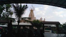Tempio dello sviluppatore di baliya in lambha, Ahmedabad, Gujarat Immagine Stock