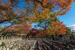 Tempio di Adashino Nenbutsu-ji, Tokyo Fotografie Stock
