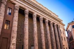 Tempio di Adriano Fotografía de archivo