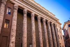 Tempio di Adriano Stock Photography