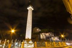 Tempio di adriano, roma Италия Стоковая Фотография RF
