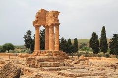 Tempio di Agrigento Immagine Stock Libera da Diritti