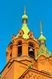 Tempio di Alexander Nevsky Fotografia Stock