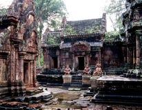 Tempio di Angkor Thom Fotografia Stock Libera da Diritti