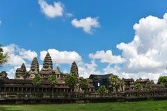 Tempio di Angkor Wat Fotografie Stock Libere da Diritti