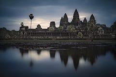 Tempio di Angkor Wat Immagine Stock Libera da Diritti