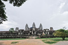 Tempio di Angkor Wat immagini stock libere da diritti