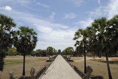 Tempio di Angkor Wat Cambodia Fotografie Stock