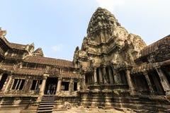 Tempio di Ankor Wat Fotografia Stock Libera da Diritti