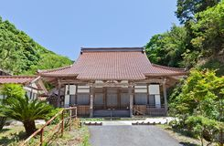 Tempio di Anyoji di Iwami Ginzan, Omori, Giappone Fotografia Stock