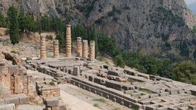 Tempio di Apollo fotografie stock libere da diritti