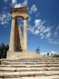 Tempio di Apollo, Cipro immagini stock libere da diritti