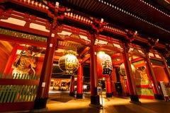Tempio di Asakusa immagine stock libera da diritti