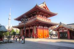 Tempio di Asakusa Kannon, Tokyo, Giappone fotografie stock libere da diritti