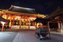 Tempio di Asakusa a Tokyo Giappone Fotografia Stock Libera da Diritti