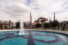 Tempio di Aya Sofia, Costantinopoli Immagine Stock Libera da Diritti