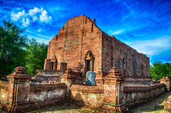 Tempio di Ayutthaya Immagini Stock Libere da Diritti