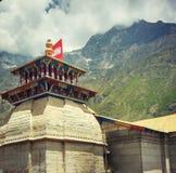 Tempio di Badrinath fotografia stock libera da diritti