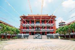 Tempio di Baguashan Buddha a Changhua, Taiwan Fotografie Stock Libere da Diritti