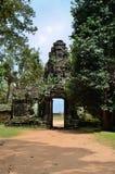 Tempio di Banteay Kdei Immagini Stock