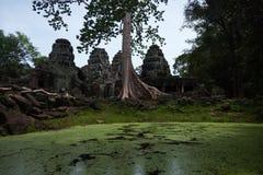 Tempio di Banteay Kdei Immagini Stock Libere da Diritti