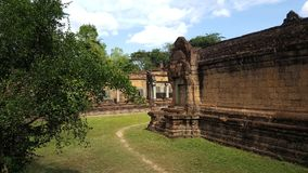 Tempio di Banteay Kdey Fotografia Stock