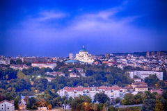 Tempio di Belgrado Fotografia Stock