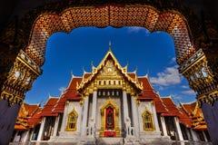 Tempio di Benjamabopit o di Mable Temple Fotografia Stock Libera da Diritti
