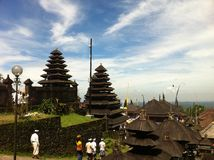 Tempio di Besakih immagini stock