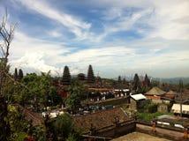 Tempio di Besakih Fotografie Stock