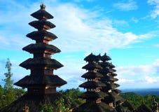 Tempio di Besakih in Bali Fotografia Stock Libera da Diritti